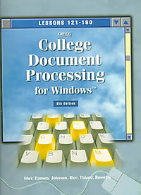 Gregg College Document Processing for Windows