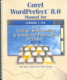 College Keyboarding and Document Processing for Windows