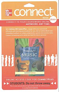The World of Music Connect Plus Music Access Card