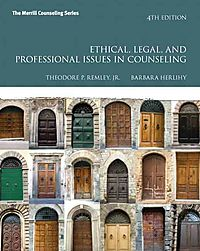 Ethical, Legal, and Professional Issues in Counseling + Video-enhanced Pearson Etext Access Card