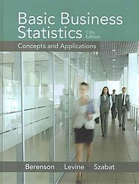 Basic Business Statistics 13th Ed.