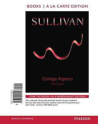 College Algebra + Worksheets With Integrated Review + New Mymathlab With Pearson Etext Access Card