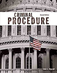 Criminal Procedure + Mycjlab With Pearson Etext