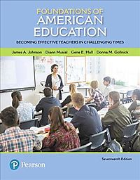 Foundations of American Education Pearson Etext Access Card