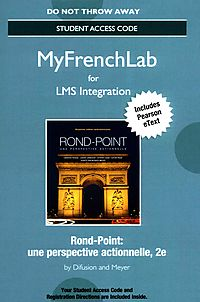 Rond-Point Une Perspective Actionnelle Myfrenchlab LMS Integration Access Code