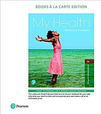 My Health + Masteringhealth With Pearson Etext Access Card Package