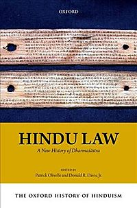 The Oxford History of Hinduism: Hindu Law