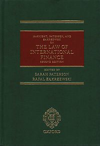 Mcknight, Paterson, and Zakrzewski on the Law of International Finance