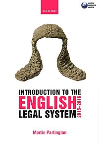 Introduction to the English Legal System 2015-2016