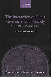 The Interaction of Focus, Givenness, and Prosody