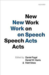 New Work on Speech Acts