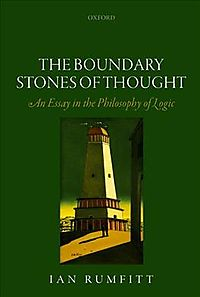The Boundary Stones of Thought