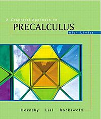 A Graphical Approach to Precalculus With Limits