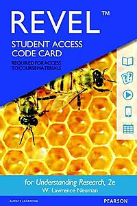 Revel for Understanding Research Access Card
