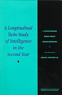 A Longitudinal Twin Study of Intelligence in the Second Year