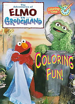 The Adventures Of Elmo In Grouchland Coloring Book Fun