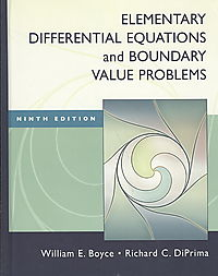 Elementary Differential Equations + Boundrary Value Problems