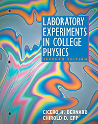 Laboratory Experiments in College Physics