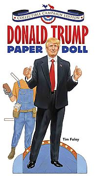 Donald Trump Paper Doll Collectible
