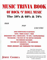 Music Trivia Book Of Rock 'n' Roll Music