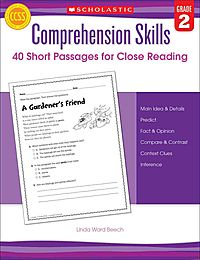 40 Short Passages for Close Reading, Grade 2