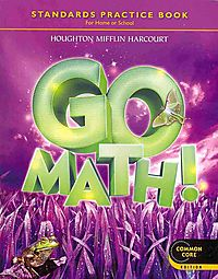 Go Math! Standards Practice Book, Grade 3