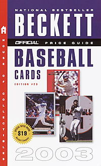 The Official Price Guide to Baseball Cards 2003