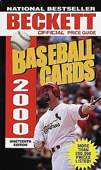 The Official Price Guide to Baseball Cards 2000