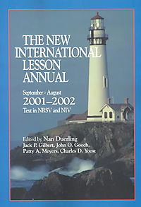 The New International Lesson Annual 2001-2002