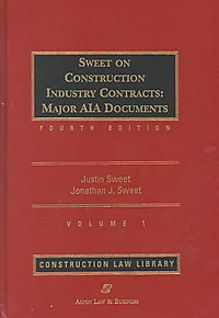 Sweet on Construction Industry Contracts
