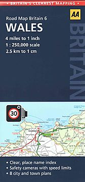 AA Road Map Britain 6 Wales