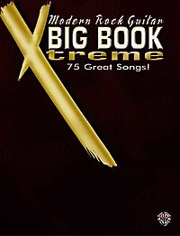 Modern Rock Guitar Big Book Xtreme