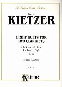 Eight Duets for Two Clarinets, Op. 94