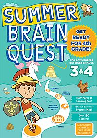 Summer Brain Quest For Adventurers Between Grades 3 & 4