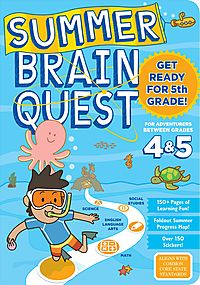 Summer Brain Quest Between Grades 4 & 5