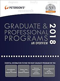 Peterson's Graduate & Professional Programs 2018