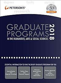 Peterson's Graduate Programs in the Humanities, Arts & Social Sciences 2018