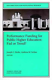 Performance Funding for Public Higher Education
