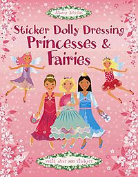 Sticker Dolly Dressing Princesses & Fairies