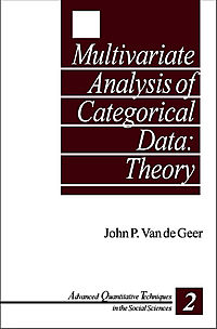 Multivariate Analysis of Categorical Data