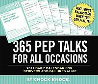 365 Pep Talks 2011 Calendar