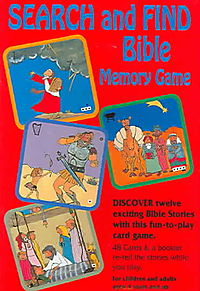 Search and Find Bible Memory Game
