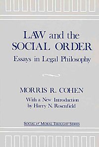 Law and the Social Order