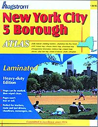 New York City 5 Borough Atlas: Laminated