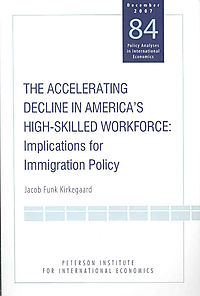 The Accelerating Decline in America's High-Skilled Workforce