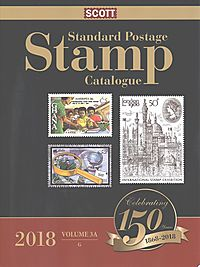 Scott Standard Postage Stamp Catalogue 2018
