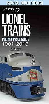 Lionel Trains Pocket Price Guide 2013