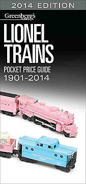 Lionel Trains Pocket Price Guide 1901-2014