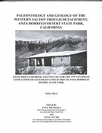 Paleontology and Geology of the Western Salton Through Detachment, Anza-borrego Desert State Park, California