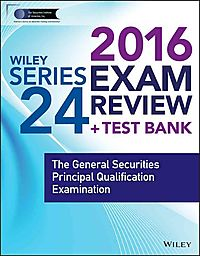 Wiley Series 24 Exam Review 2016 + Website